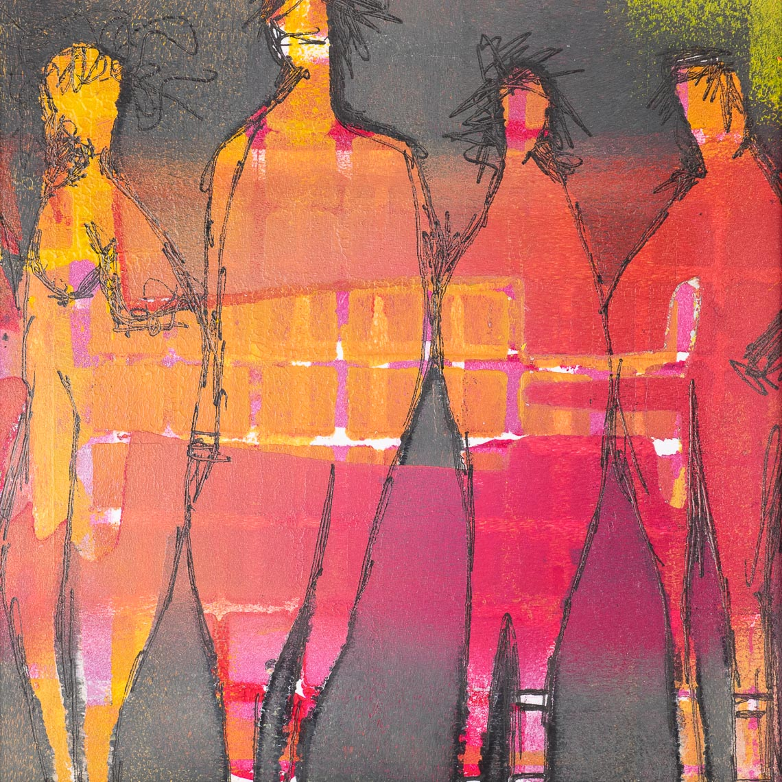 Malerei Workshop Malkurs Workshops Malkurse Braunschweig Mischtechnik