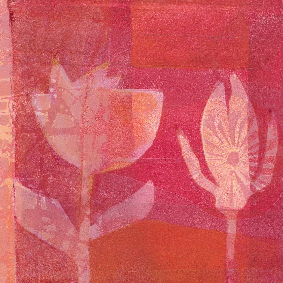 Malerei Workshop Malkurs Workshops Malkurse Braunschweig Gelatinedruck